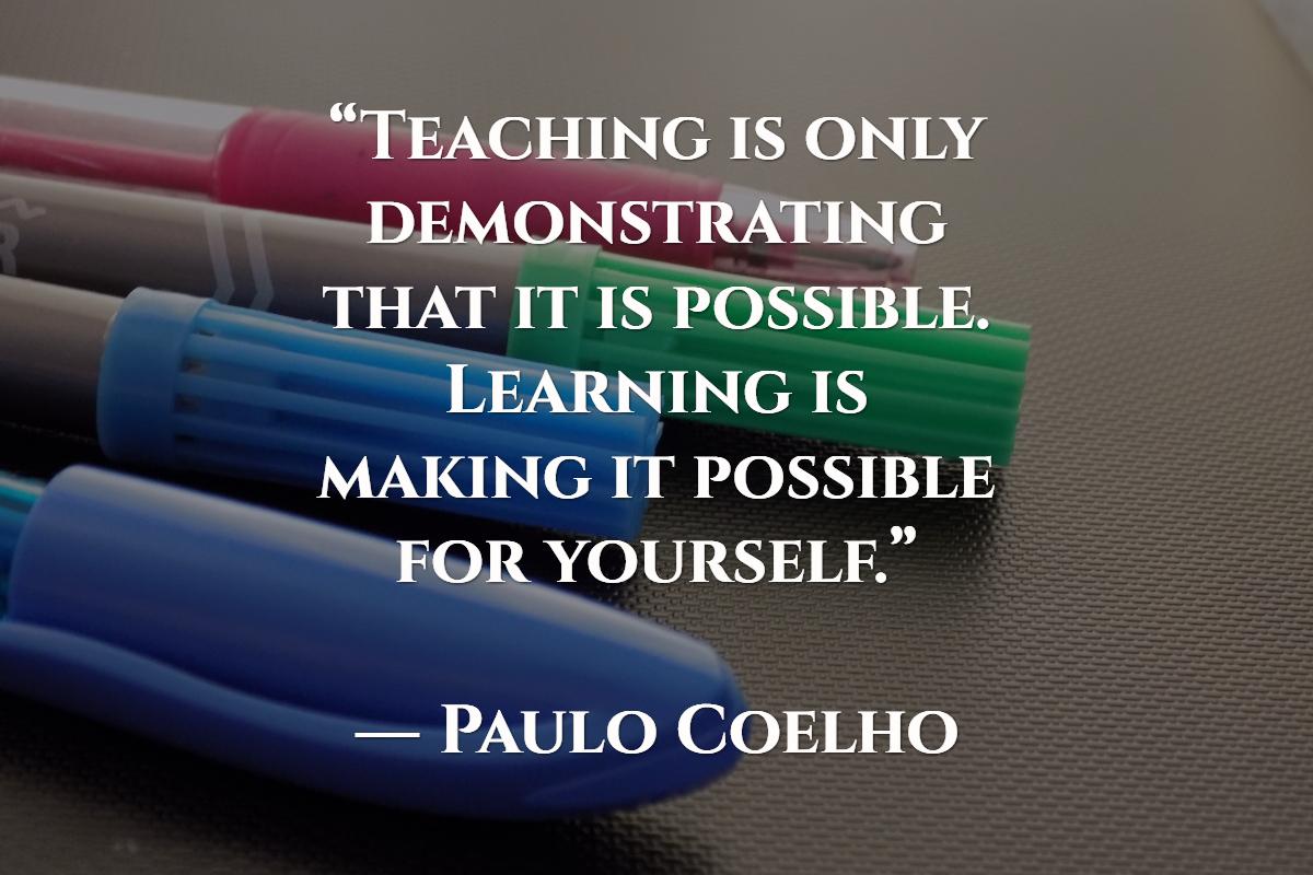 at lærer