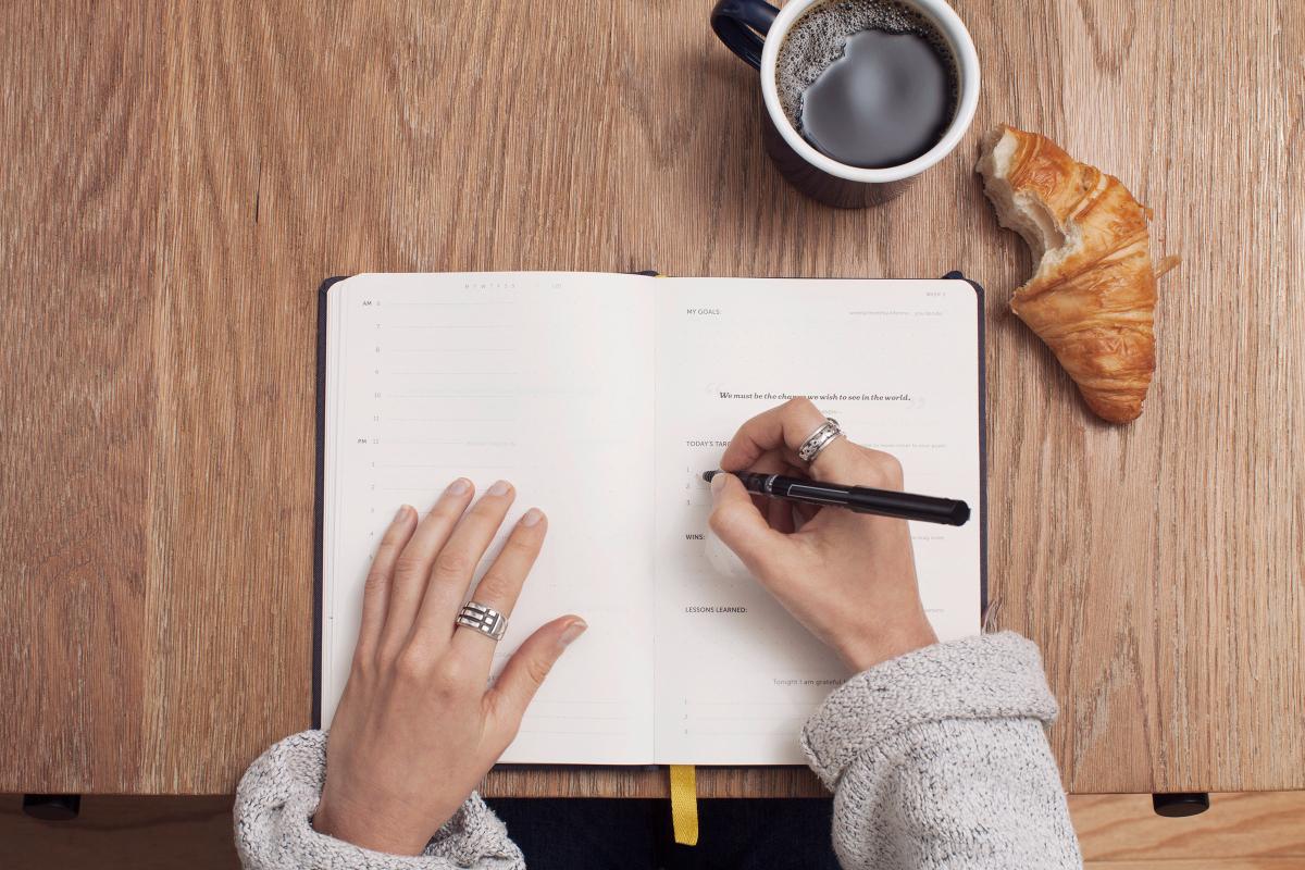 Skriv dagbog 20 Skridt