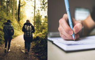 Skriv, gå