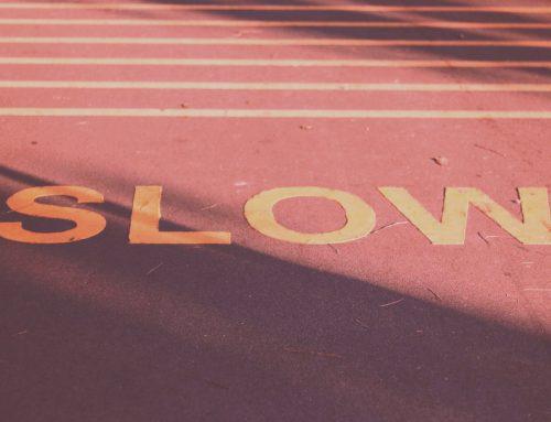 5 ting, du kan gøre langsommere