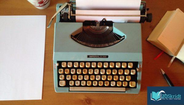 Skriv en bog