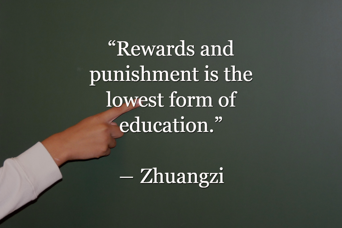 Public speaker about teaching