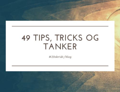 Opmuntringslisten – 49 tips, tricks og tanker til tunge tider