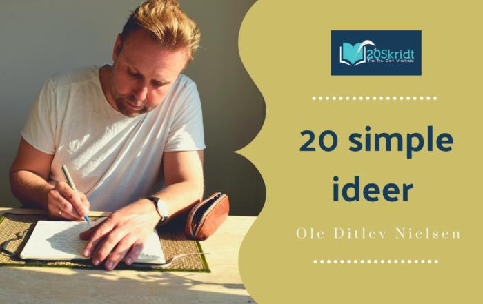20 simple ideer