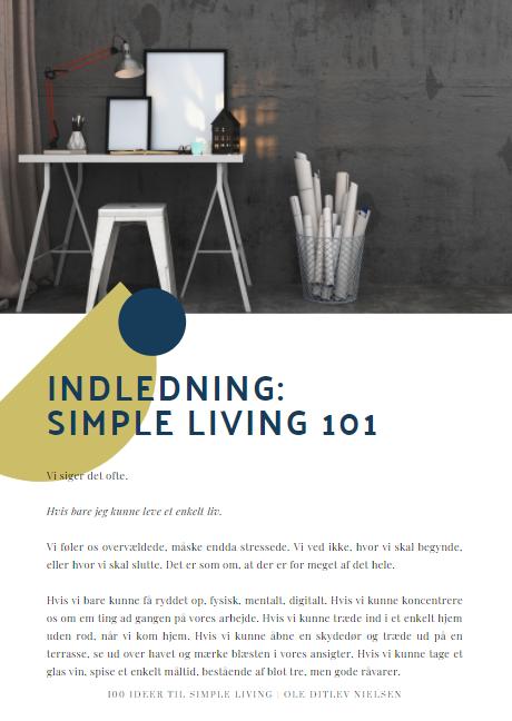 PDF simple living