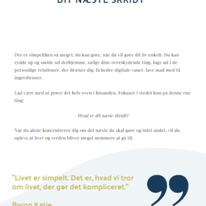 Bog om simple living