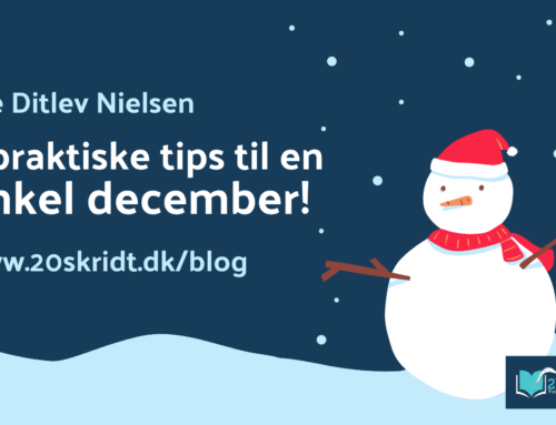 En praktisk guide til en enkel december