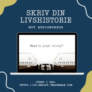 Skriv livshistorie