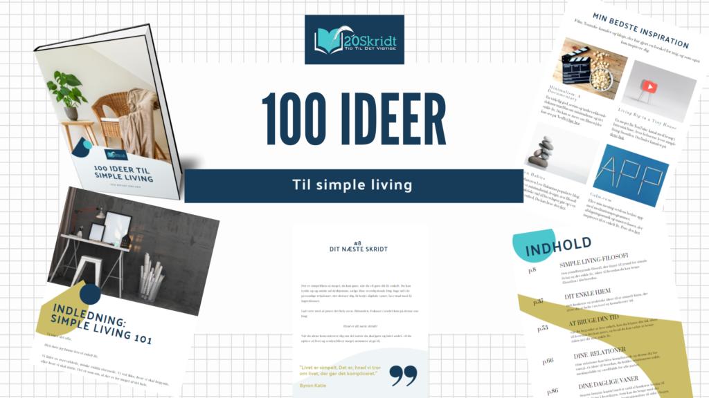 Simple living ideer